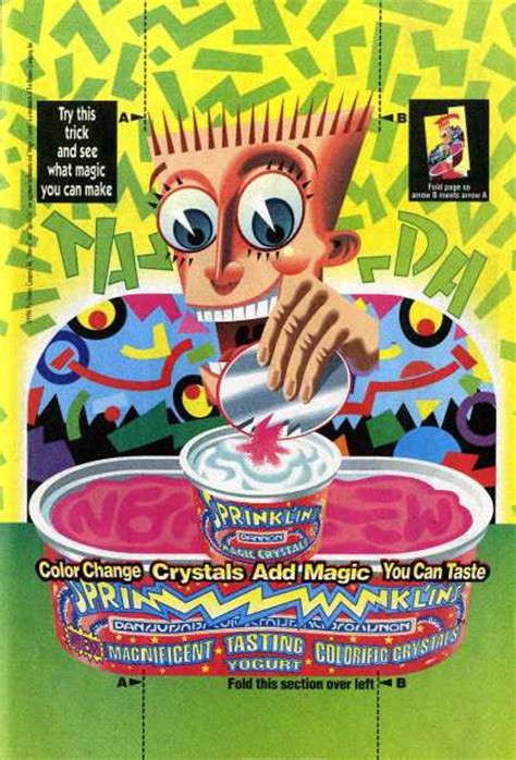 Vintage Candy Advertisements of the 1990s