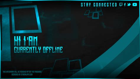Alpha - Offline Screen Twitch - with psd template - Download