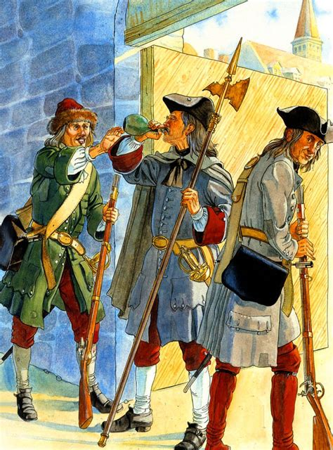 Peter the Great's Russian troops in Riga after its fall