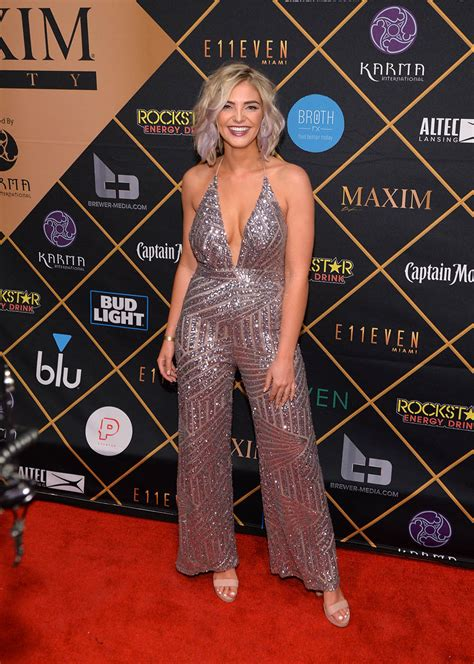 Olivia Caridi attends the 2018 Maxim Party co-sponsored by