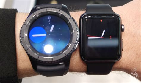 Samsung Gear S3 is much better, and a whole lot worse