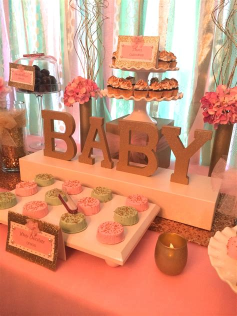 Sweet Simplicity Bakery — Baby Shower in Mint Green, Pale