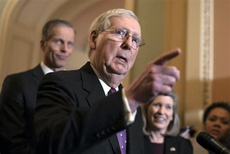 McConnell still working on packing the courts as nation