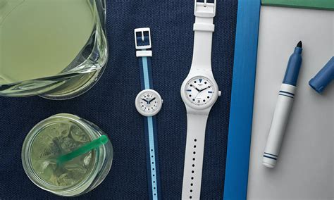 Swatch SISTEM51 Hodinkee Summer Edition | Cool Material