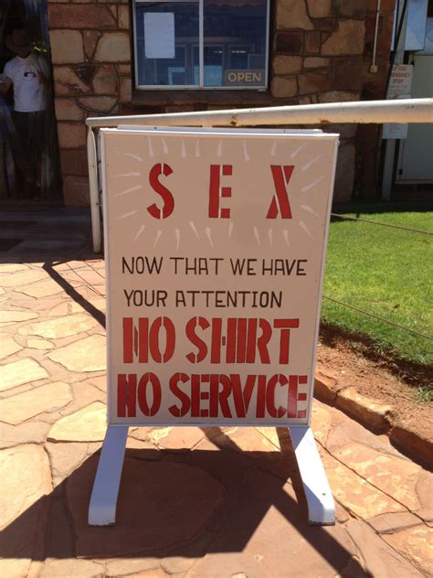 Funny Signs I've Seen This Week in Australia…   Pants on