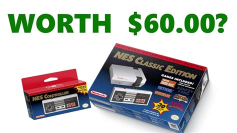 Would The NES Mini Be Worth The Price of Admission? - YouTube