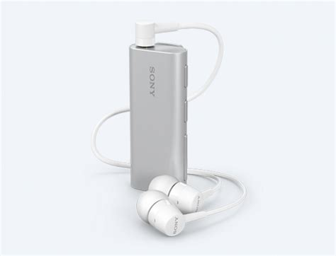 Sony SBH56 Bluetooth Headset with Speaker has a camera