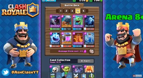 Watch Clash Royale - Best Decks For All Arenas! (Arena 1