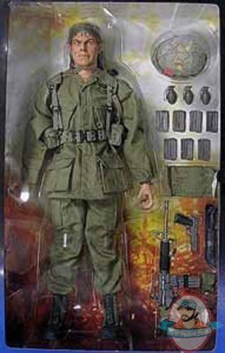 1/6 scale Seargent Barnes Platoon Figure by Sideshow