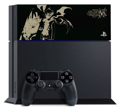 Sony Releases Lovely PS4 With Custom Disgaea 5 HDD Cover
