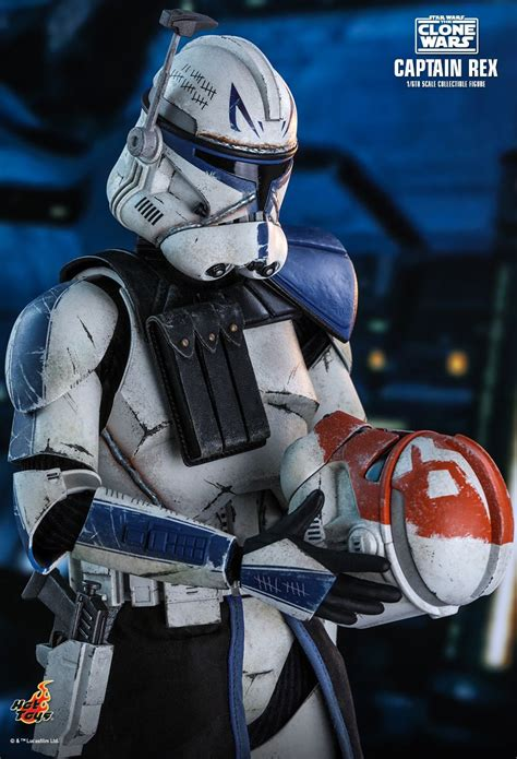 Clone Wars' Captain Rex Gets Season 7-Inspired Hot Toys