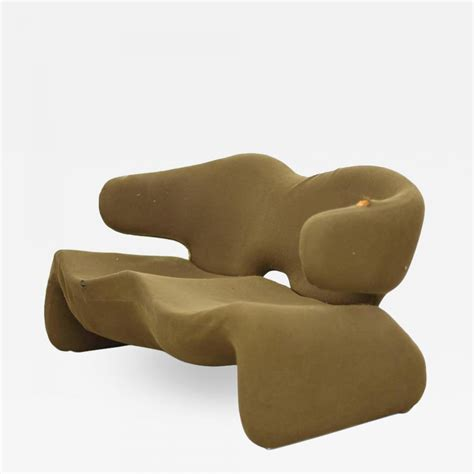 """Olivier Mourgue - Olivier Mourgue """"Djinn Settee"""" for"""