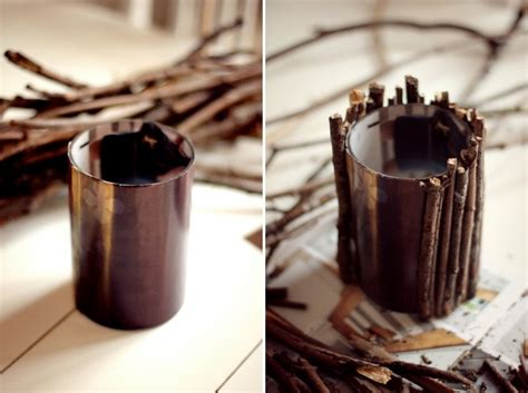 DIY: FLOWER VASE MADE OUT OF STICKS - Fanny Staaf - Metro Mode