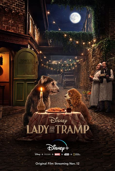 Lady and the Tramp D23 trailer brings Disney's animated