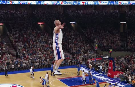 """Watch How Crazy """"NBA 2K16"""" Gets When You Create Either a"""