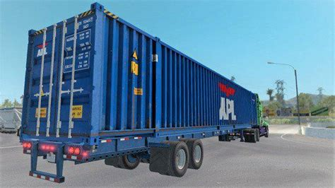 ATS 53ft Container Cargo pack for Owned Gooseneck 1