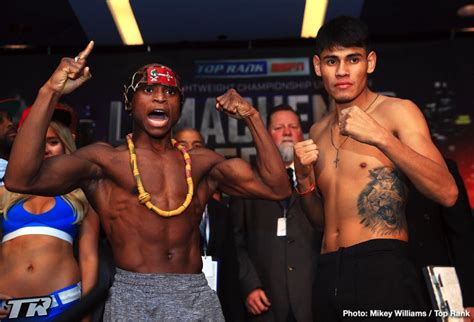 Isaac Dogboe On Weight For World Title Defence Vs Emanuel