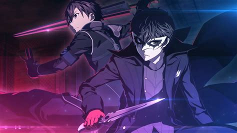 Watch the Persona 5 Royal Infiltrate Two Sword Art Online