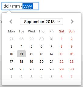 Get Today Date and Last Week date from current date in