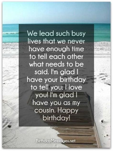 20 Birthday Wishes for a Special Cousin Brother or Sister