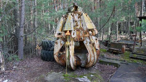 The Highly Radioactive Gripping Claw In Pripyat (Chernobyl
