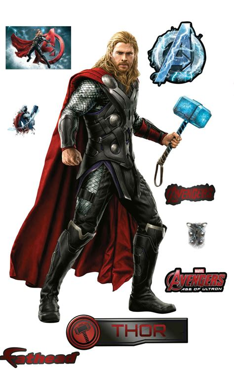 Avengers: Age of Ultron Fathead Wall Decals Featuring