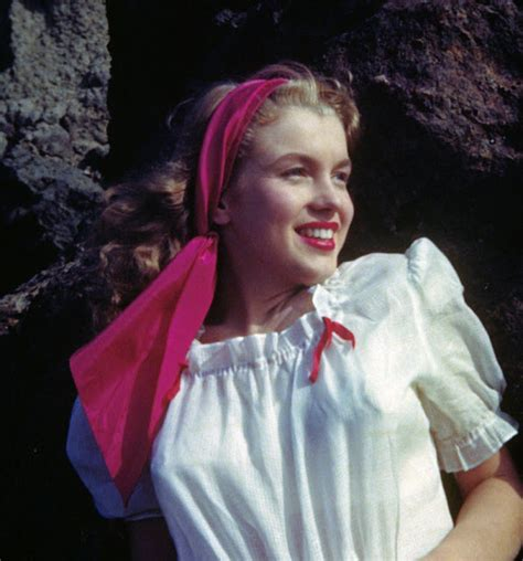 The First Professional Photos of a Young Norma Jean Before
