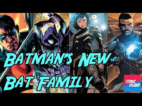 Super-Team Family: The Lost Issues!: Batman enters The