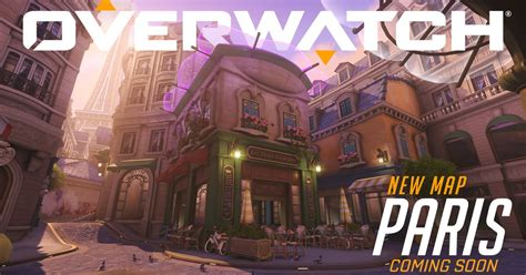 New Overwatch map, Paris, goes live on PTR - Polygon