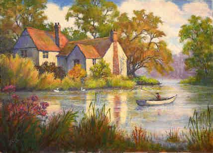 R C MARTIN LANDSCAPE ARTIST OIL AND WATERCOLOUR PAINTING