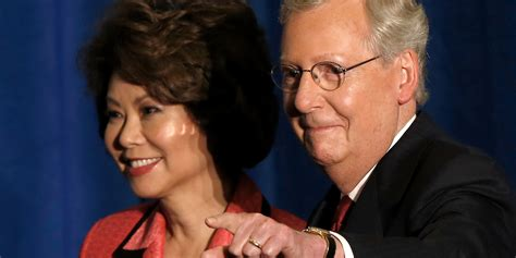 Mitch McConnell's Wife Sits On The Board Of A Group