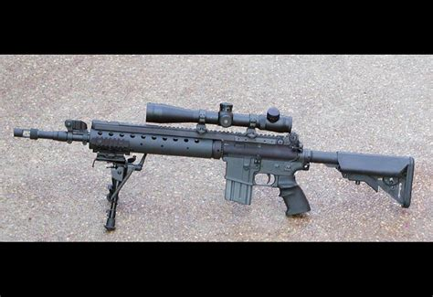 United States Navy Mark 12 Special Purpose Rifle (Mk 12
