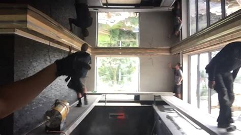 My Crazy Swimming Pool Ceiling (Mirror Effect) - YouTube