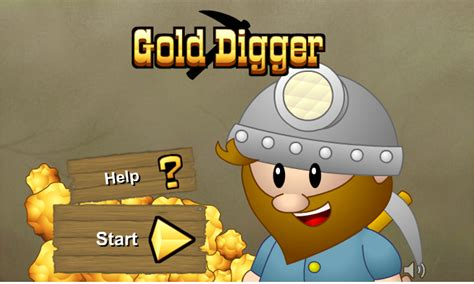 Games for teenages: Gold Digger