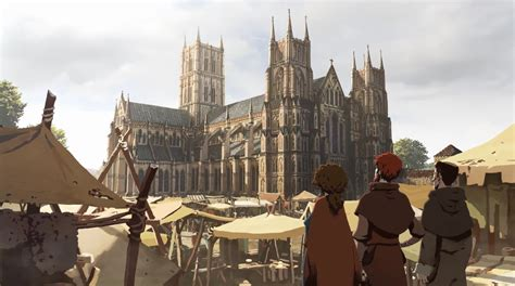 Watch: Trailer For 'The Pillars Of The Earth' Video Game