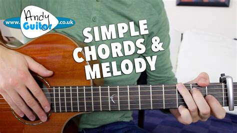 Somewhere Over The Rainbow EASY Chords and Melody Guitar
