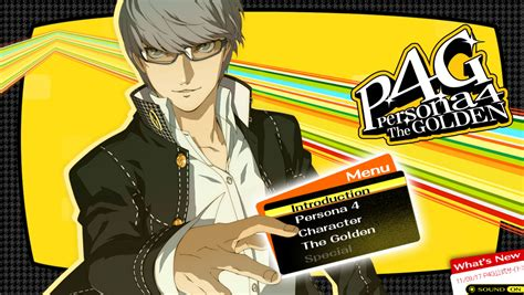 Persona 4: The Golden Official Website Officially Opens