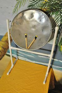 Steel Drum with Sticks & Stand, Free Dvd & song booklet