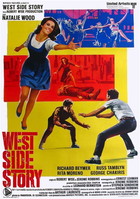 MOVIE POSTERS: WEST SIDE STORY (1961)