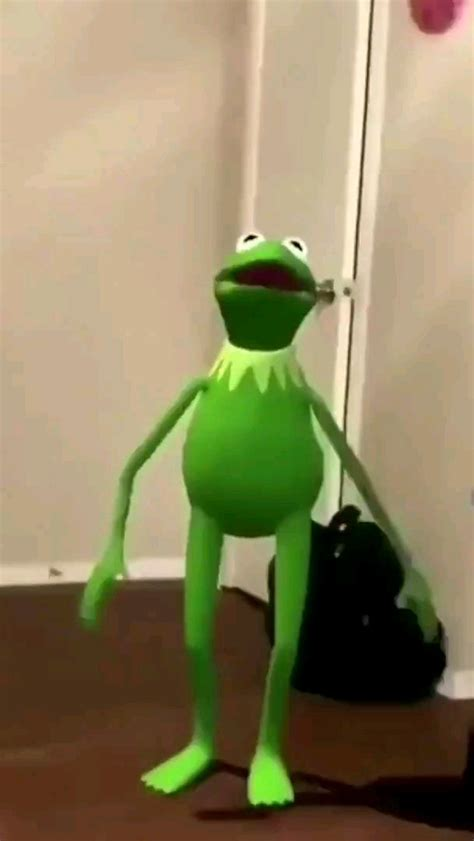 Kermit dances to Succession theme (choreography by