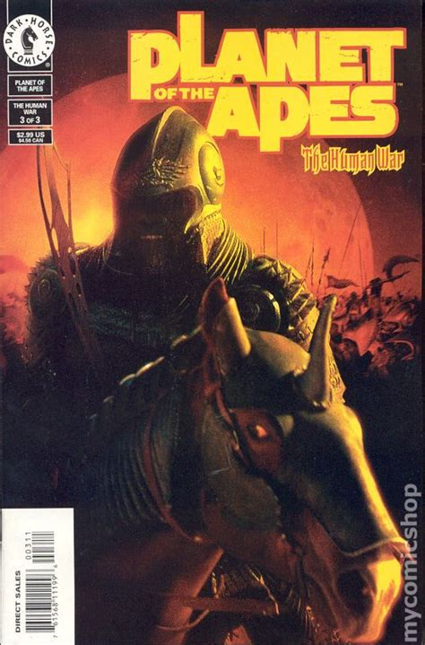 Planet of the Apes The Human War (2001) comic books