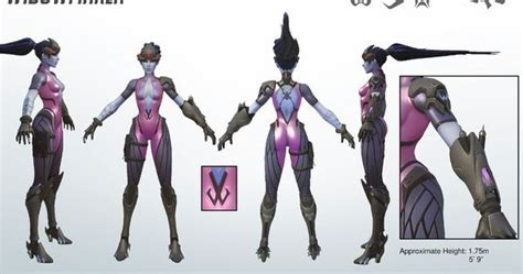 Overwatch - Widow Maker Reference Guide:   WEapon