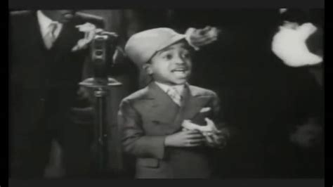 Song and dance 7 year old actor Sammy Davis Jr - YouTube
