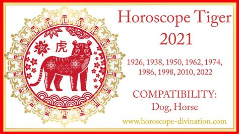 Chinese Horoscope 2021 Tiger White Metal Ox Year ⬅️