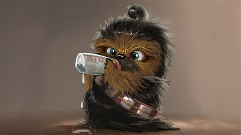 Star wars chewbacca baby Wallpapers HD / Desktop and