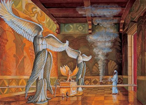 Temple - High Priest - Holy of Holies   Biblical art
