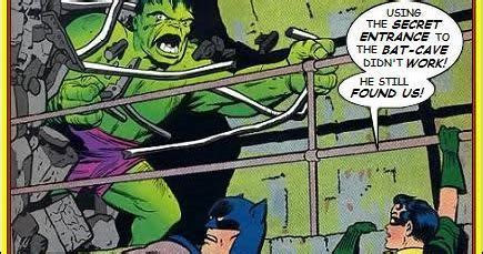 Super-Team Family: The Lost Issues!: Batman and The Hulk