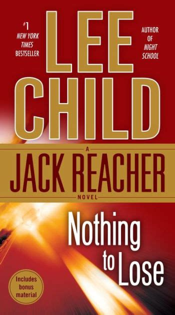 Nothing to Lose (Jack Reacher Series #12) by Lee Child