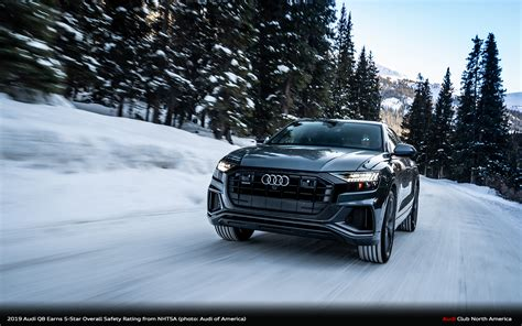 2019 Audi Q8 Earns 5-Star Overall Safety Rating from NHTSA
