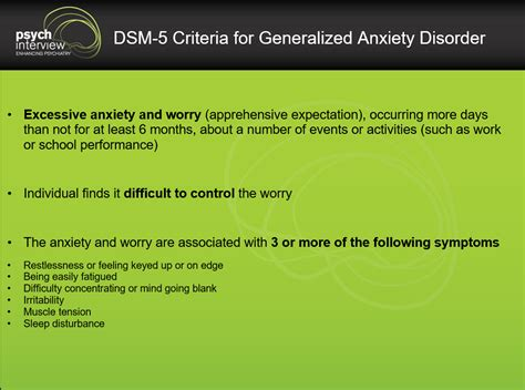 How to Diagnose Generalized Anxiety Disorder? - Clinical